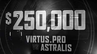 [CS:GO] Odvetný zápas Virtus.Pro a Astralis o 250 000 USD