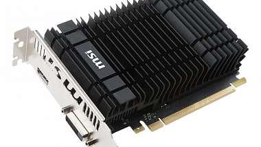 MSI uvedlo svoje varianty nové GeForce GT 1030