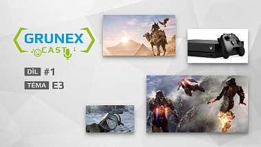 Představujeme nový projekt: GrunexCast – podcast o hrách a hardware