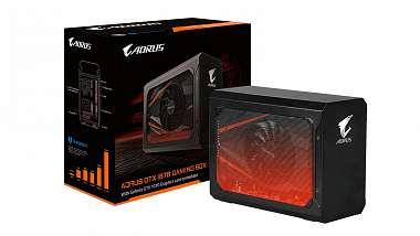 Gigabyte uvádí externí box s GeForce GTX 1070