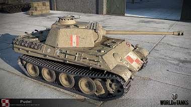 [WoT] 9.19.1 : Pudel - nový Polský tank