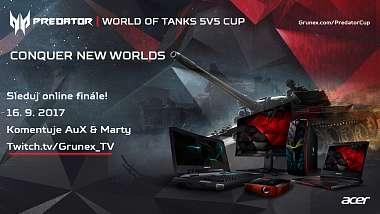 Kvalifikační část ukončena, 8 nejlepších týmů se utká v Online finále Predator WoT Cupu!