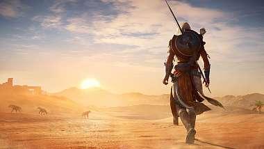 Gamescom 2017: Projít nové Assassin's Creed na 100% zabere až 140 hodin.
