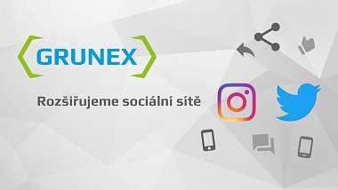 Grunex najdete i na Instagramu a Twitteru