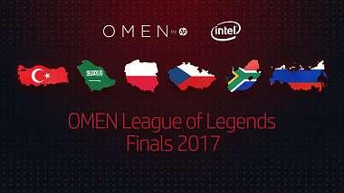 OMEN League of Legends Finals - mezinárodní turnaj s českou účastí