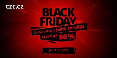 CZC.cz spouští Black Friday již dnes, čeká nás celý týden slev