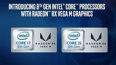 Intel procesory s RX Vega grafikou porazí GeForce GTX 1050/1060