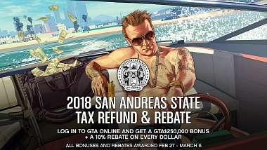 GTA Online: Přihlašte se a získejte 250 000 $ a další bonus