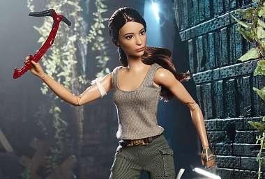 Panenka Barbie se stala Larou Croft!