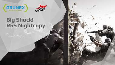 Spouštíme Rainbow Six Siege turnaje na Grunexu