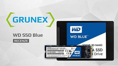 Recenze: SSD disky WD Blue M.2/SATA - tmavomodrý svět