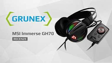 Recenze: MSI Immerse GH70 - mohutná zbraň pro hráče