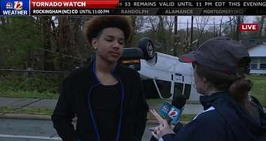 Mladý muž pokračoval ve hraní Fortnite, i když jej na životě ohrožovalo tornádo