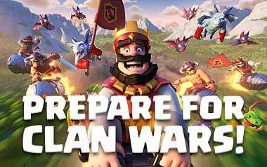 Klanové války přichází do Clash Royale a mnohem více