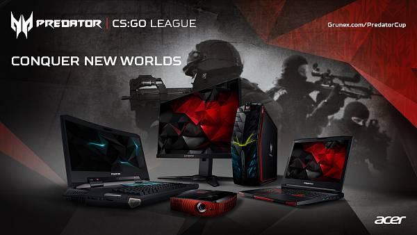 Zúčastni se Predator CS:GO League o 30 000 Kč