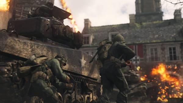 Call of Duty: WWII odhaluje obsah uzavřené bety