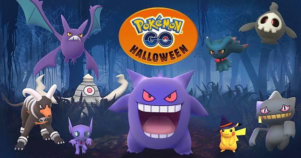 V Pokemon GO probíha Halloween