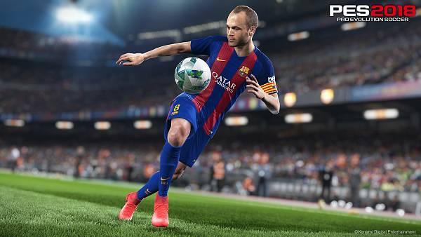 Zpracování Slavie ve hře Pro Evolution Soccer 2018