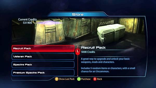 Hráči vmultiplayeru Mass Effect utráceli klidně 300 000 Kč za mikrotransakce