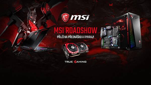 MSI Roadshow 2017 zavítá do Plzně, Brna a Ostravy kde představí herní novinky