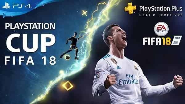 Dojdi si zahrát PlayStation FIFA 18 cup  v únoru o super ceny