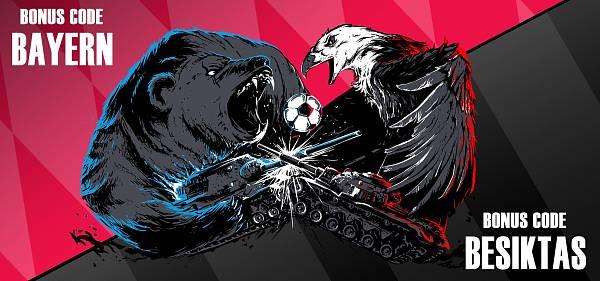 [WoT] WoT EU: Kdo vyhraje, Bayern nebo Beşiktaş? No, přece vy!