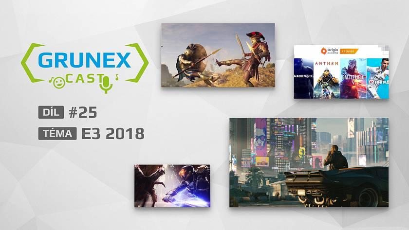 grunexcast-25-co-nas-zaujalo-z-e3-2018