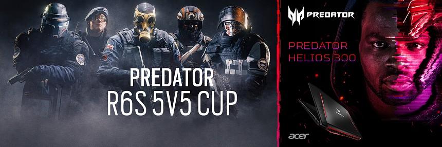 Predator | Rainbow Six Siege 5v5 Cup - Kvalifikace #1