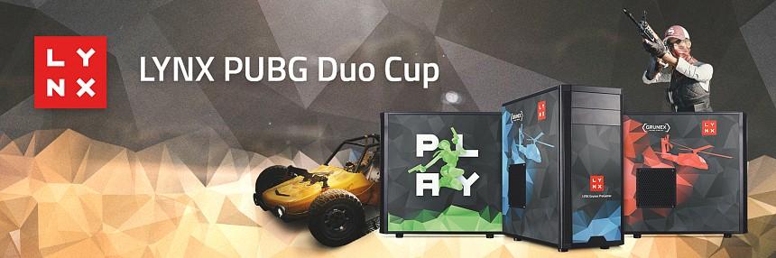 LYNX | PUBG Duo Cup - 19. 5. 2018