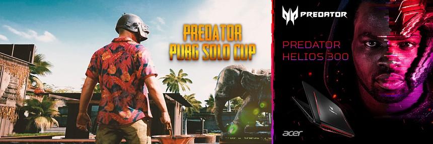 Predator | PUBG Solo  Cup -  7. 7. 2018 | Finále
