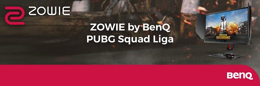 ZOWIE by BenQ PUBG Squad Liga | Finále Kvalifikace #3