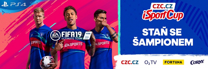 CZC.cz iSport FIFA 19 Cup | Online Finále