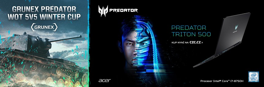 Predator Grunex WoT 5v5 Winter Cup | Kvalifikace #1
