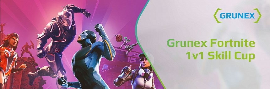 Grunex Fortnite 1v1 Skill Cup #3 PUMP / M4 / SMG / HUNTING