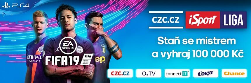 CZC.cz iSport Liga | FIFA | Kvalifikace #4