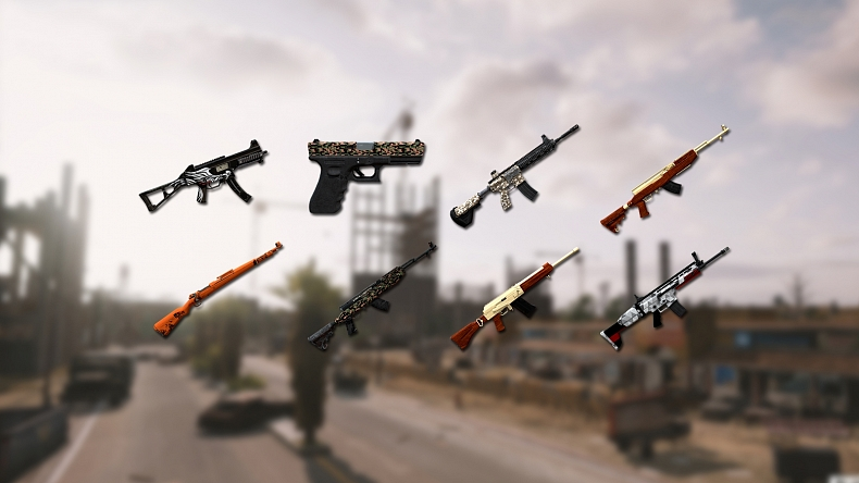 Zbraně PUBG