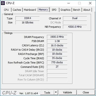 Ram CPUZ