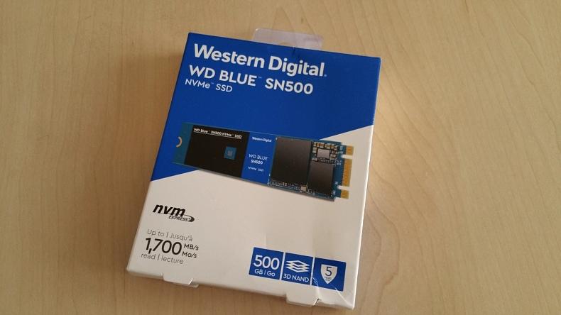 WD Blue SN500