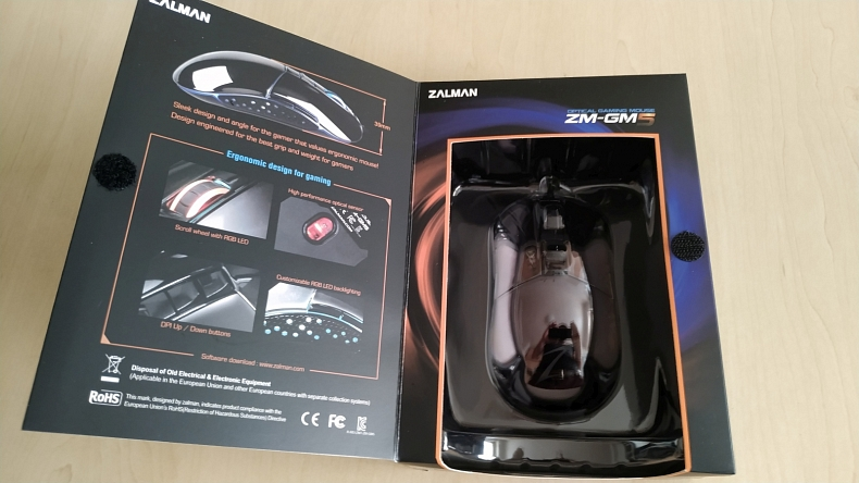 Zalman myš ZM GM5